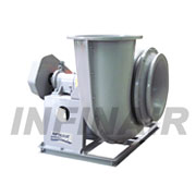 Backward Curved SWSI FRP Centrifugal Fan - Wheel Type F